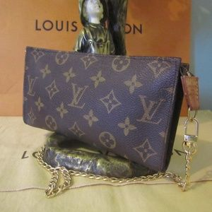 Louis Vuitton Monogram Pochette Purse Bag Pouch